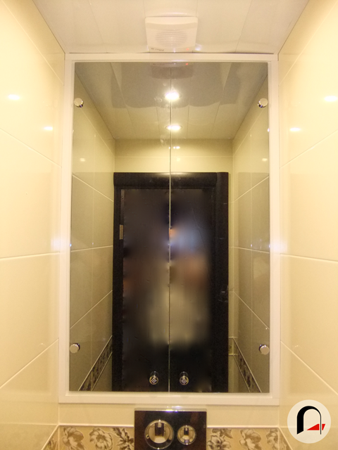 Как своими руками встроить шкаф в туалете